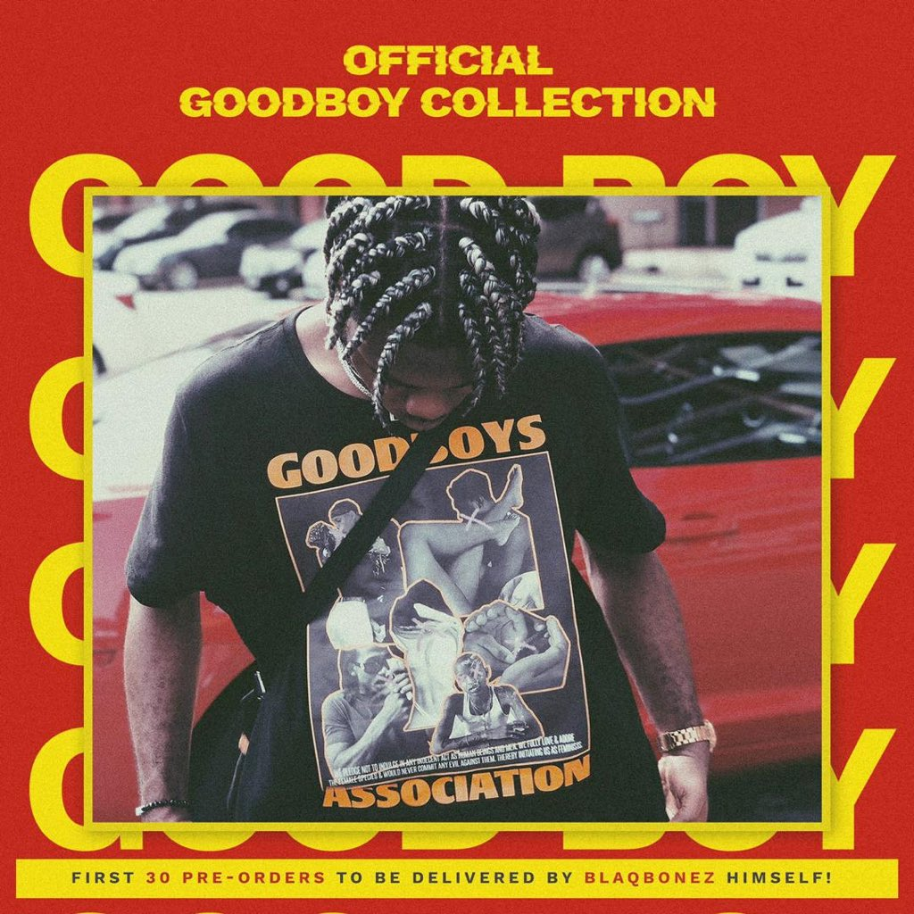 Blaqbonez GOODBOY collection