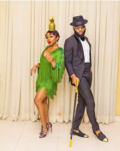 Ifu Ennada and Swanky Jerry at the cold feet premiere