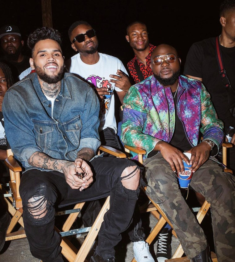 Stream Davido and Chris Brown's New Release 'Blow My Mind'