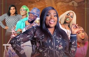 Watch Funke Akindele's Aiyetoro Town season finale trouble looms