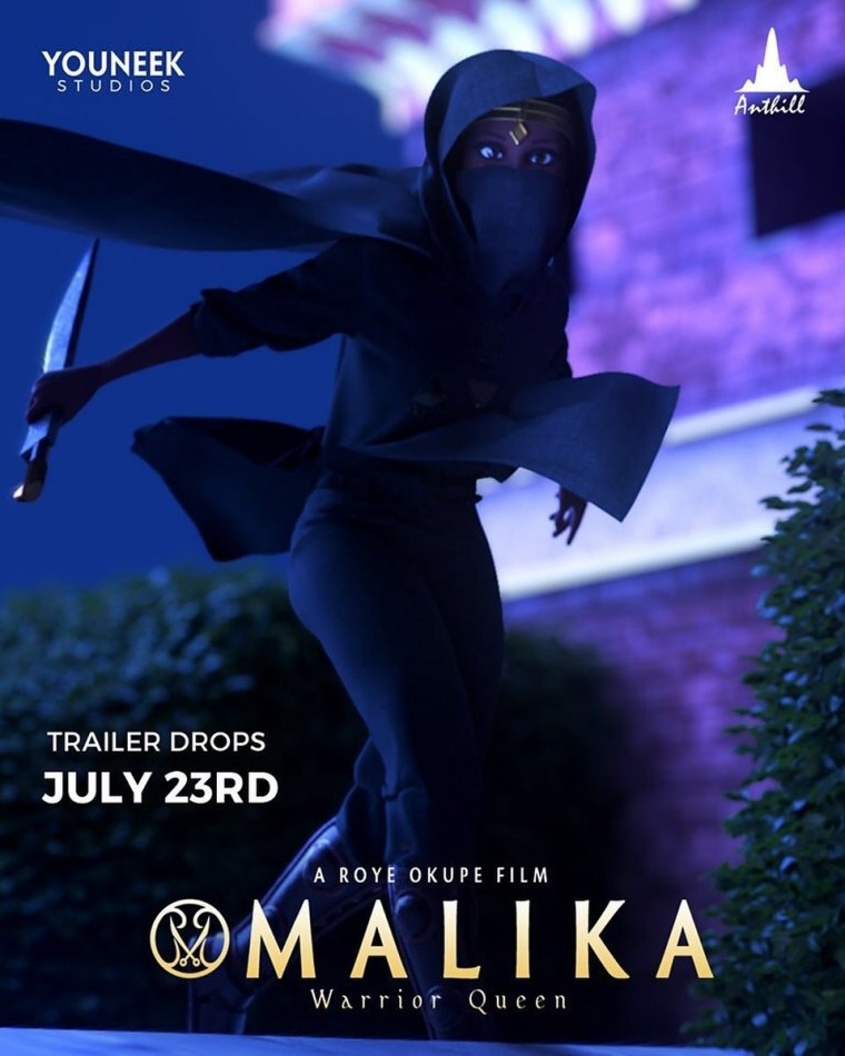 Malika: Warrior Queen now on Youtube