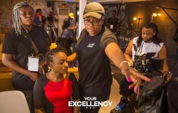 Funke Akindele makes directorial debut on Ebonylife's Your Excellency