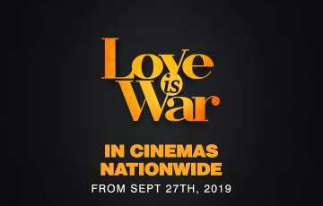 Love is War Teaser: Omoni Oboli and RMD are at War and in Love.