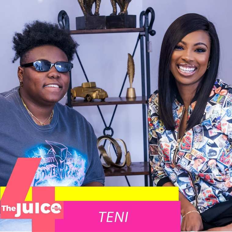 Teni Entertainer Ndani's TV The Juice