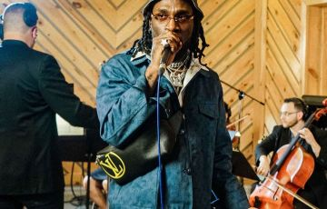 burna boy Audiomack trap symphony with live orchestra