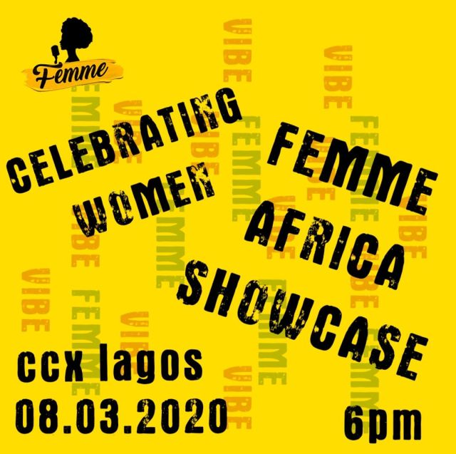 Femme Africa To Host International Women's Day Showcase At CCX Lounge