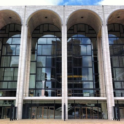 Metropolitan Opera House Façade
