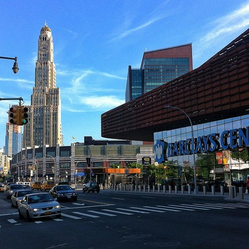 Flatbush Avenue and Barclays Center