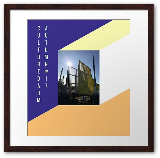 Culturedarm Cover Autumn 17 Large Framed Print