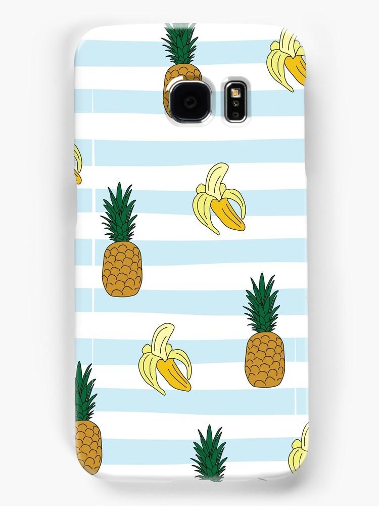 Culturedarm Bananas Pineapples Samsung Case