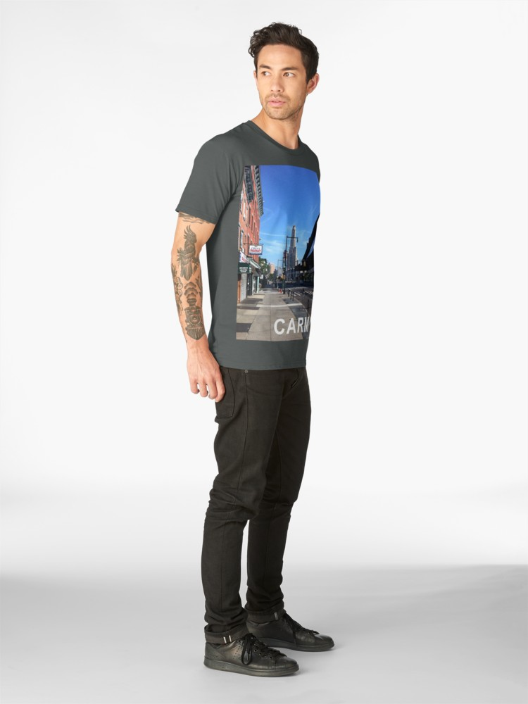 Culturedarm CARM Flatbush Avenue Dark Grey Premium T-Shirt