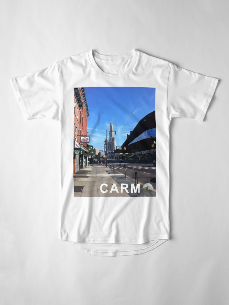 Culturedarm CARM Flatbush Avenue White Long T-Shirt