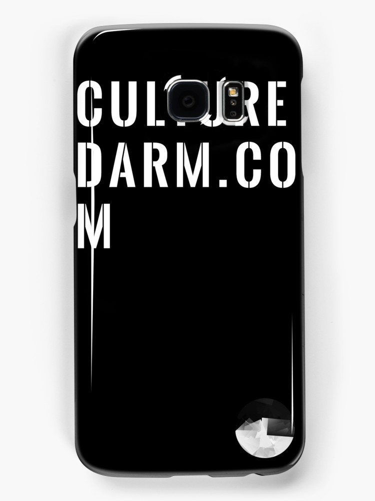 Culturedarm Black Box Text Samsung Galaxy Case