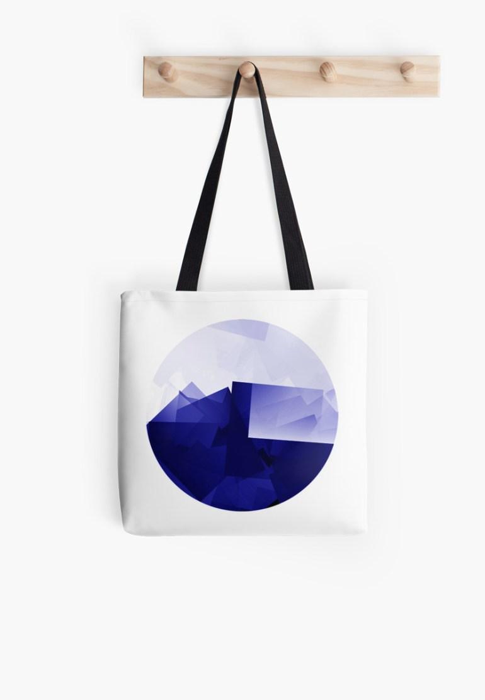 Culturedarm Logo Ultramarine Tote Bag