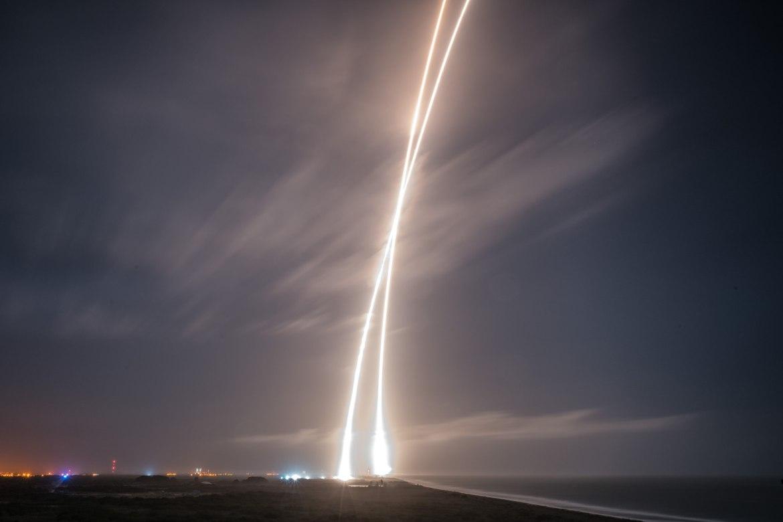 Falcon 9 Landing 3