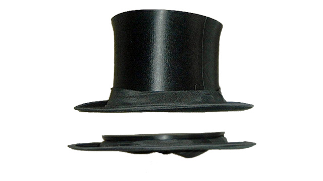 Gibus Collapsible Top Hat