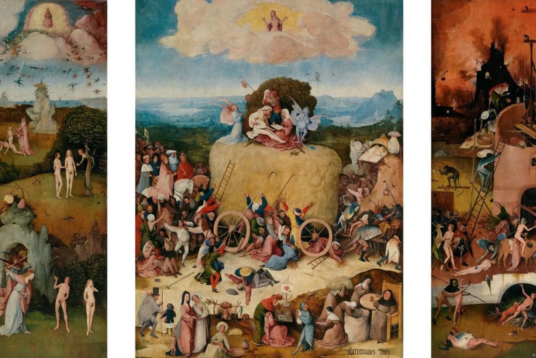 Hieronymus Bosch - The Haywain 2