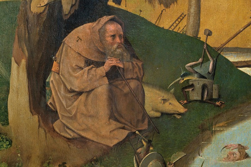 Hieronymus Bosch - The Temptation of St Anthony 2