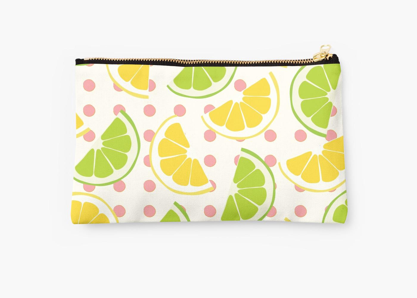 Culturedarm Lemons Limes Studio Pouch
