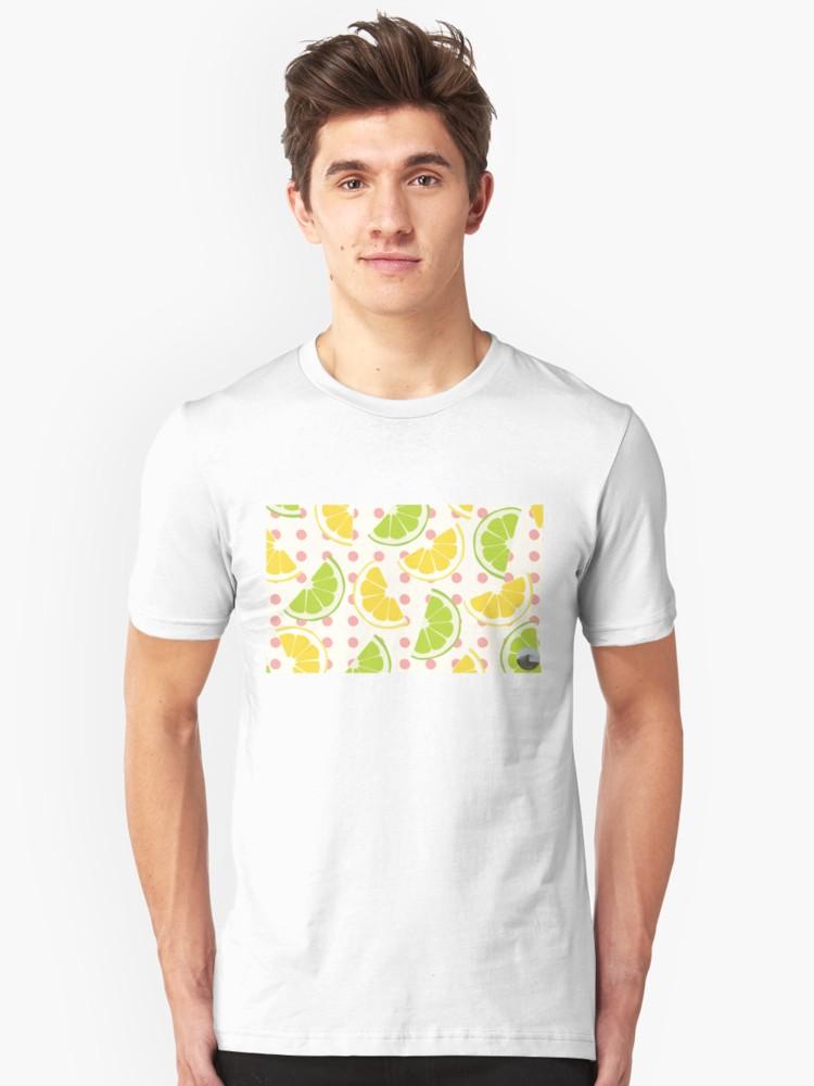 Culturedarm Lemons Limes White Unisex T-Shirt