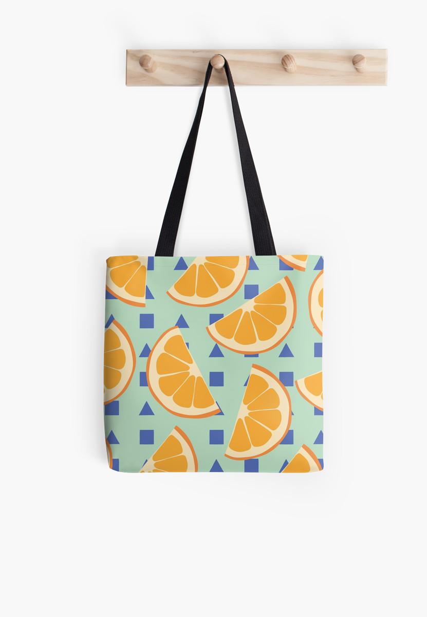 Culturedarm Oranges Tote Bag