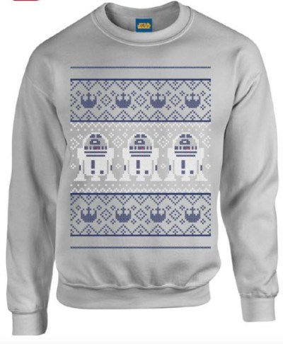 R2D2 Christmas Sweatshirt