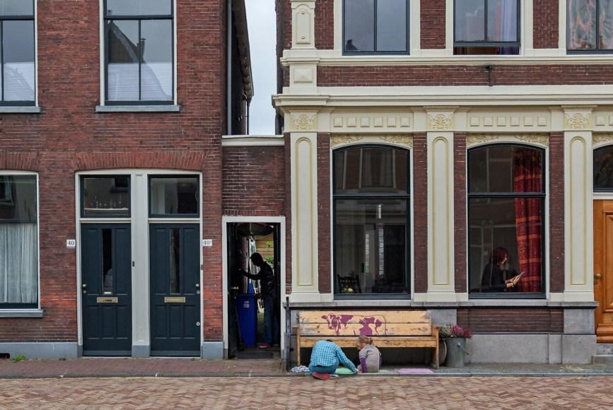 Vermeer The Little Street Located