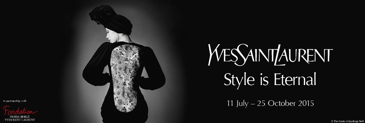YSL Exhibition Page Banner