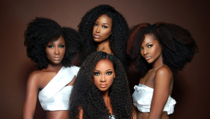 Резултат слика за group of black women with natural hair