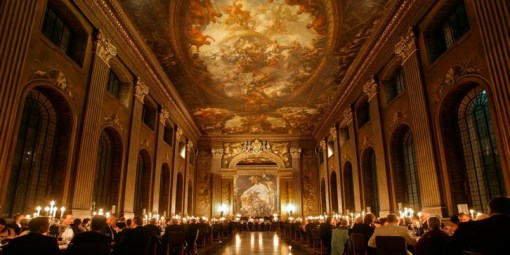 The Painted Hall - like something out of Hogwarts...