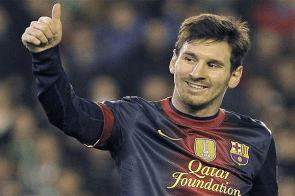 Lionel Messi wins