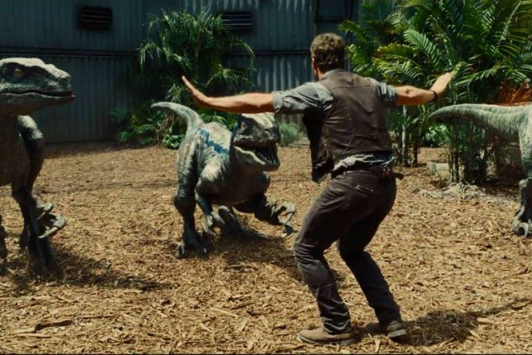 Chris Pratt raptors
