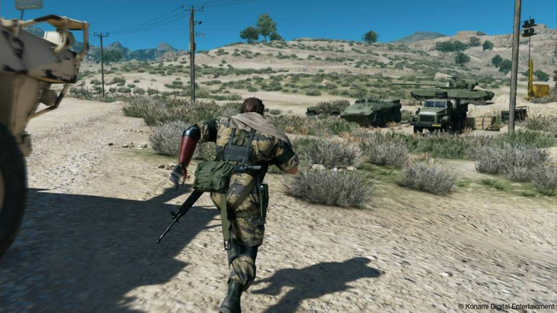 GAME REVIEW: Metal Gear Solid V: The Phantom Pain