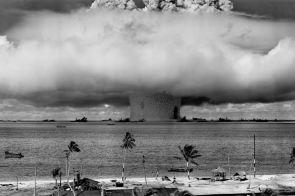 Nuclear bomb testing