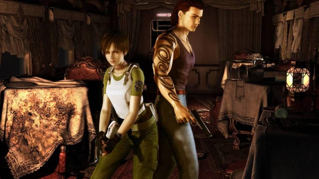 Resident Evil zero remaster