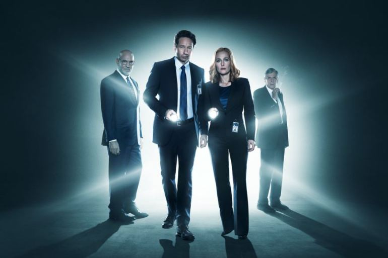 X-Files david duchovny gillian anderson