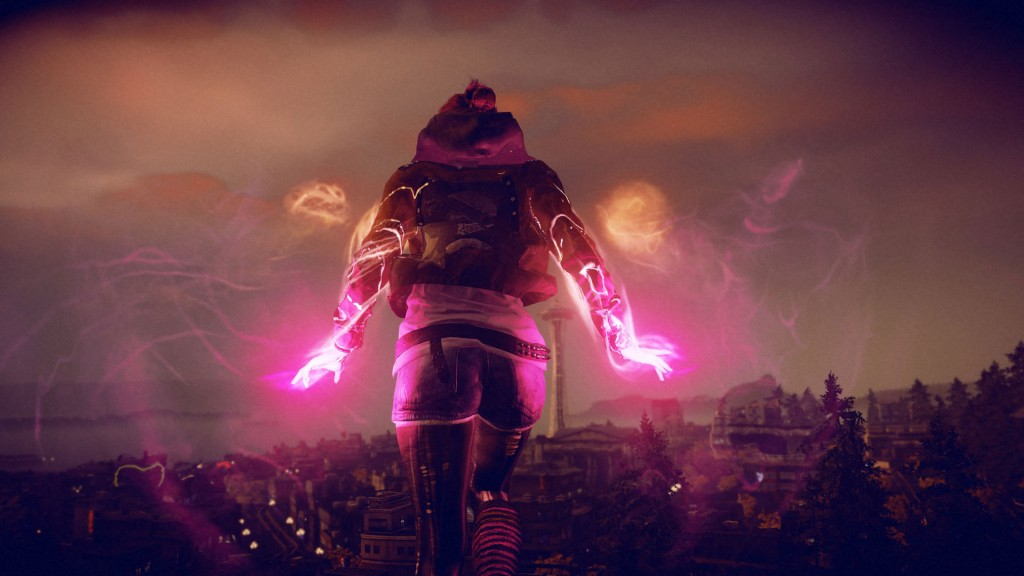 Infamous First Light screens