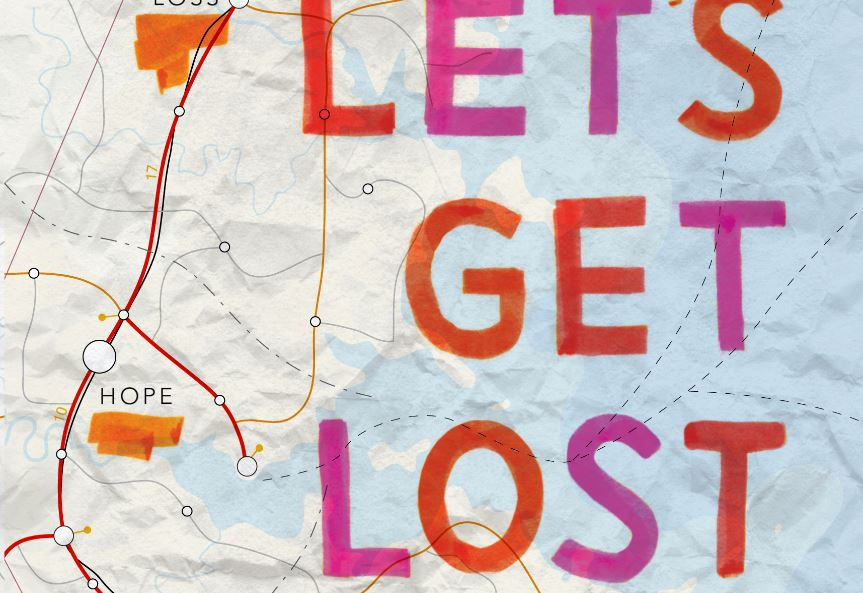 Let's Get Lost book