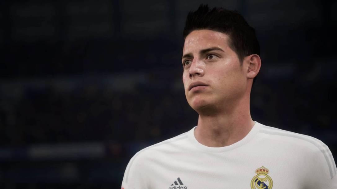 James Rodriguez FIFA 17