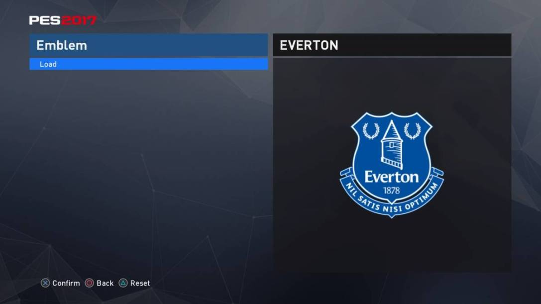 PES 2017 Everton