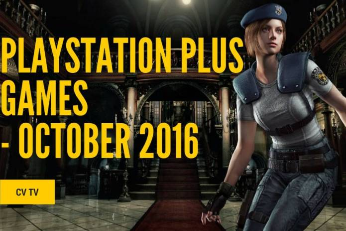 Free October PlayStation plus games