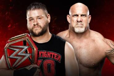 Kevin Owens and Goldberg