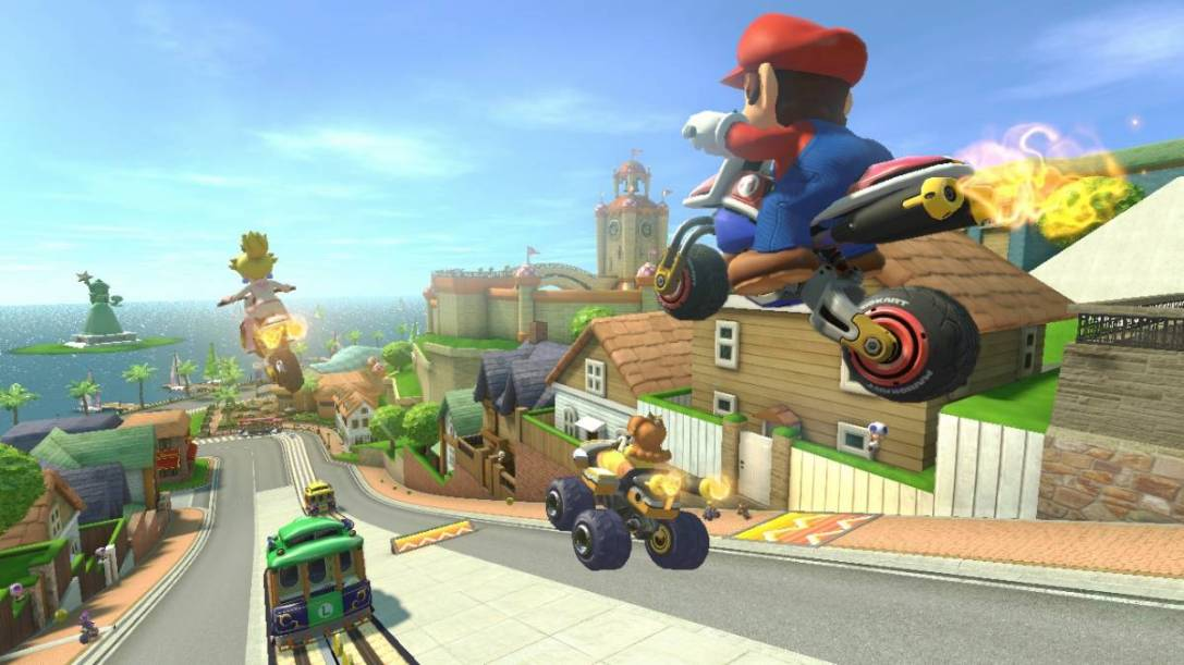 Mario Kart 8 Toad Harbor