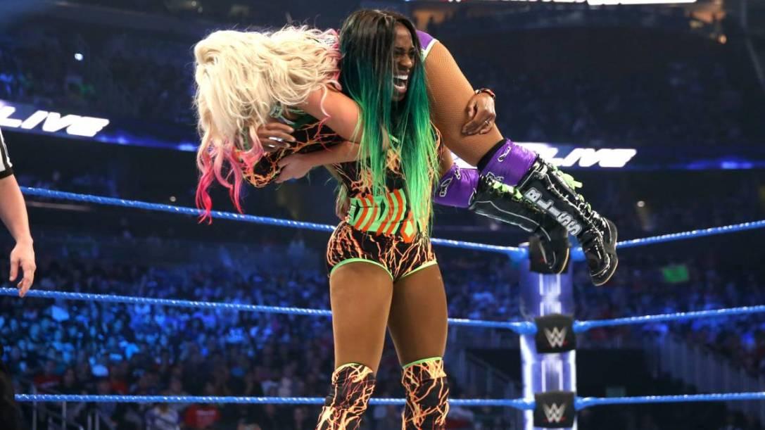 Naomi and Alexa Bliss