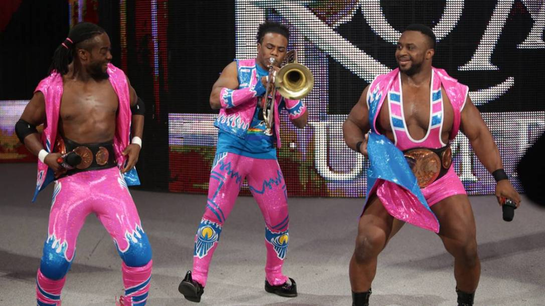 Kofi Kingston, Xavier Woods and Big E - The New Day