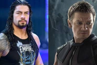 Roman Reigns and Hawkeye