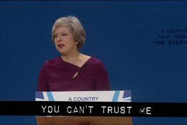 Theresa May vs Cassetteboy