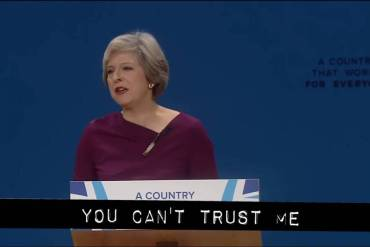 Theresa May vs Cassetteboy