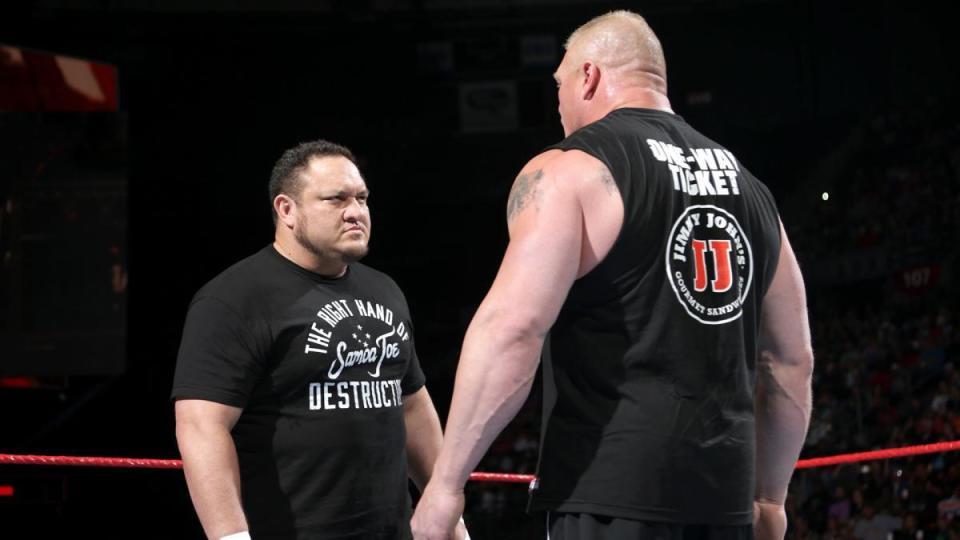 Brock Lesnar and Samoa Joe