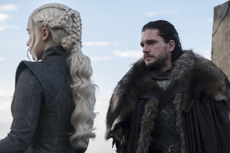 Snow and Daenerys
